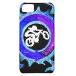 Groovy Blue Bike Rider iPhone 5C Case