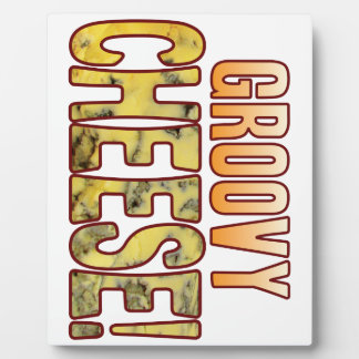 Groovy Blue Cheese Plaque