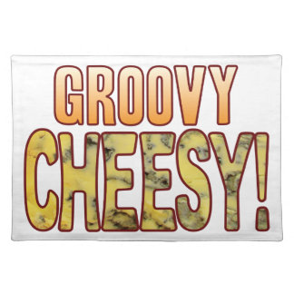 Groovy Blue Cheesy Placemat