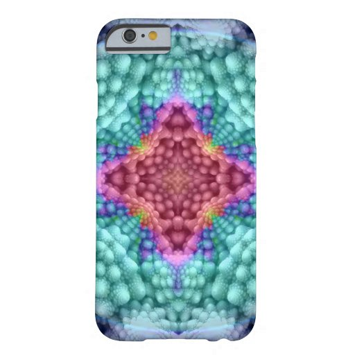 Groovy Blue Vintage  Barely There iPhone 6 Case