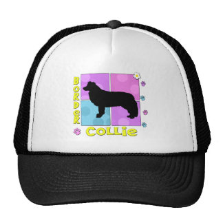 Groovy Border Collie Trucker Hat