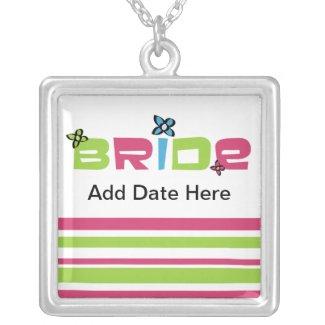Groovy Bride Pendant Necklace necklace