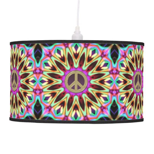 Groovy brights hippy peace sign lamp shade zazzle groovy brights hippy peace sign lamp shade aloadofball Gallery