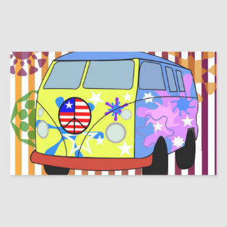 Groovy! Bus stickers