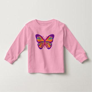 Groovy Butterfly Design T-shirt