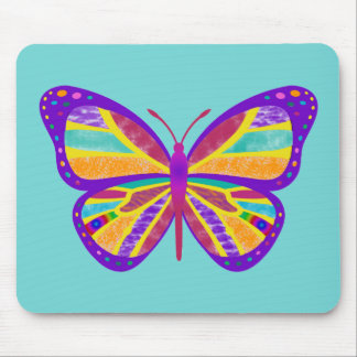 Groovy Butterfly Mouse Pad