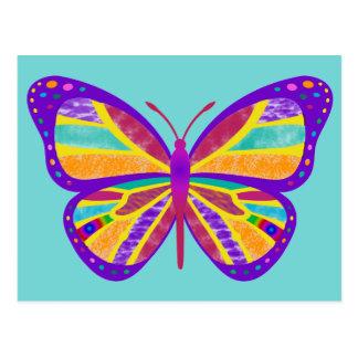 Groovy Butterfly Postcard