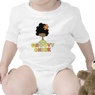 Groovy Chick Baby Bodysuits
