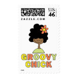 Groovy Chick Postage