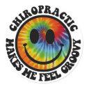 Groovy Chiropractic Stickers sticker