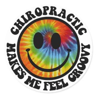 Groovy Chiropractic Stickers