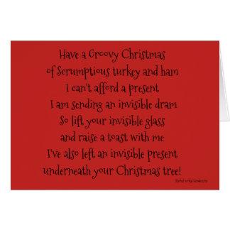 Groovy Christmas Card