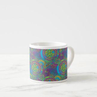 Groovy Circles Espresso Cup