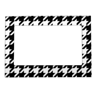 Groovy Classic Houndstooth Magnetic Fridge Frame
