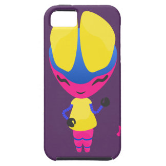 Groovy CMYK Robot iPhone SE/5/5s Case