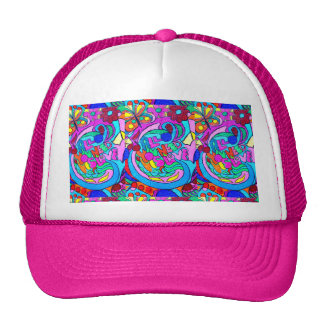 groovy colored love hat
