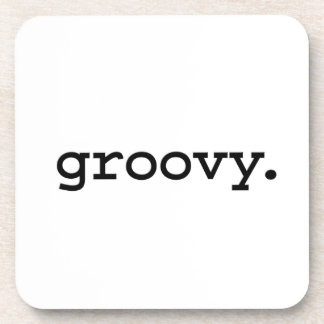 groovy. beverage coaster