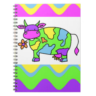 Groovy Cow Notebook