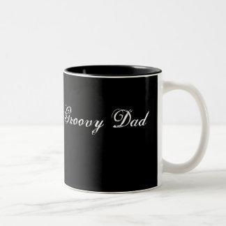 Groovy Dad Two-Tone Coffee Mug