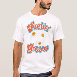 Groovy Daisies Girl's T-Shirt