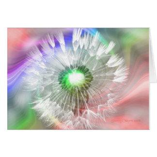 Groovy Dandelion Card