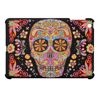 Groovy Day of the Dead Art iPad Mini Case