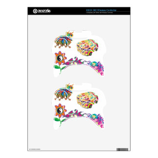 Groovy design xbox 360 controller decal