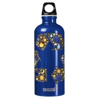 Groovy Ecology Aluminum Water Bottle