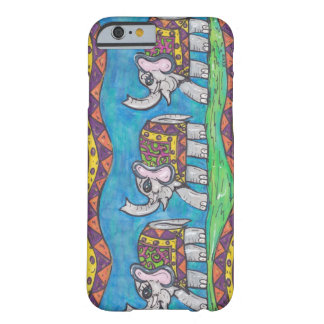 Groovy Elephant Parade Barely There iPhone 6 Case