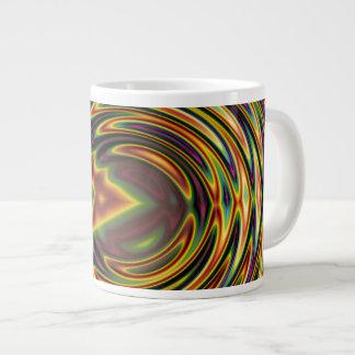 Groovy Far Out Fractal 20 Oz Large Ceramic Coffee Mug