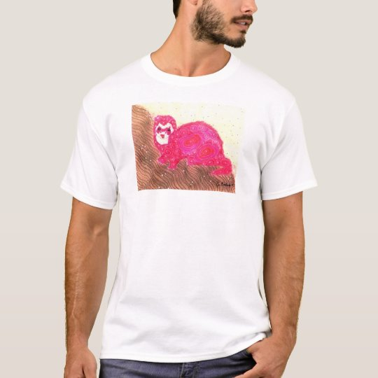 Groovy ferret (smaller image without text) T-Shirt
