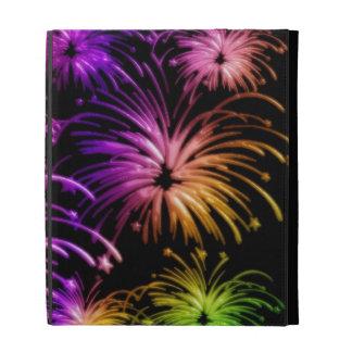 Groovy Fireworks Aglow iPad Case