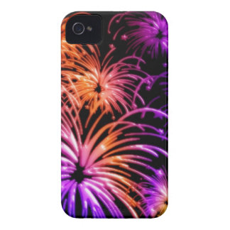 Groovy Fireworks Aglow iPhone 4 Case-Mate iPhone 4 Cover