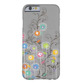Groovy Flower Garden Whimsical Colorful Floral Barely There iPhone 6 Case
