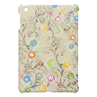 Groovy Flower Garden Whimsical Colorful Floral Case For The iPad Mini
