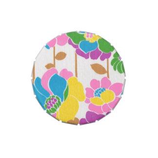 Groovy Flower Power Candy Tin