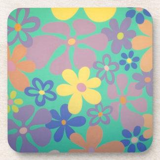 Groovy Flower Power Coasters