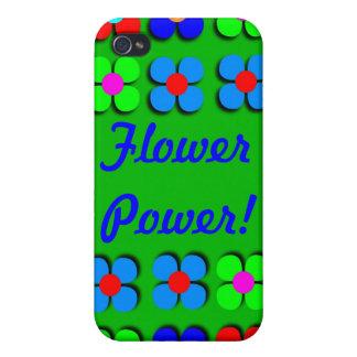 Groovy Flower Power iPhone4 Case