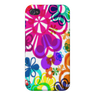 Groovy Flower Power iPhone 4 Covers