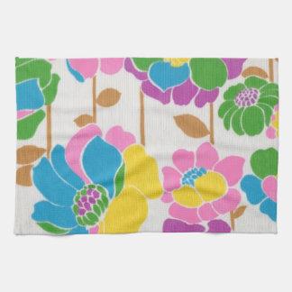 Groovy Flower Power Kitchen Towels
