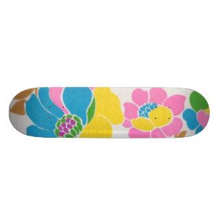 Groovy Flower Power Skateboard