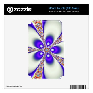 Groovy Fractal iPod Touch 4G Skin