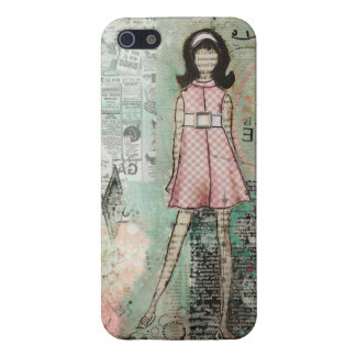 Groovy Gal iPhone 5 Case by Janelle Nichol