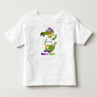 Groovy Gator Customize and Personalize T-shirt