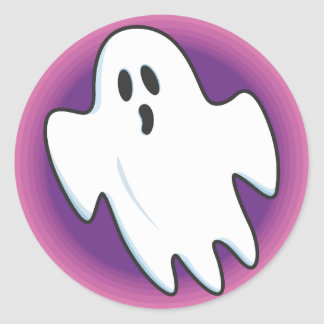 Groovy Ghost Stickers