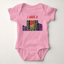Groovy Grandma Baby Bodysuit