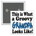 Groovy Grandpa Buttons