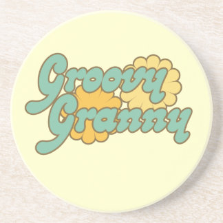 Groovy Granny Drink Coasters
