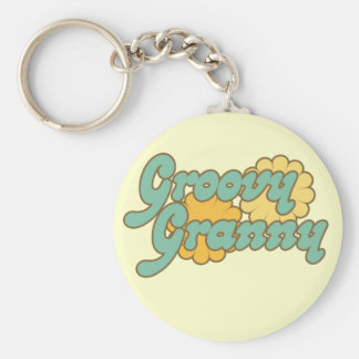 Groovy Granny Key Chain