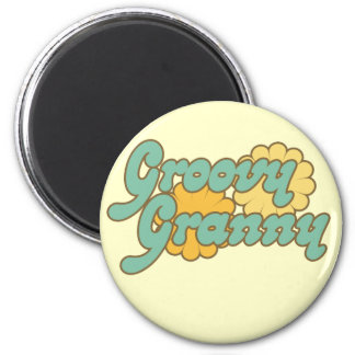 Groovy Granny Magnet